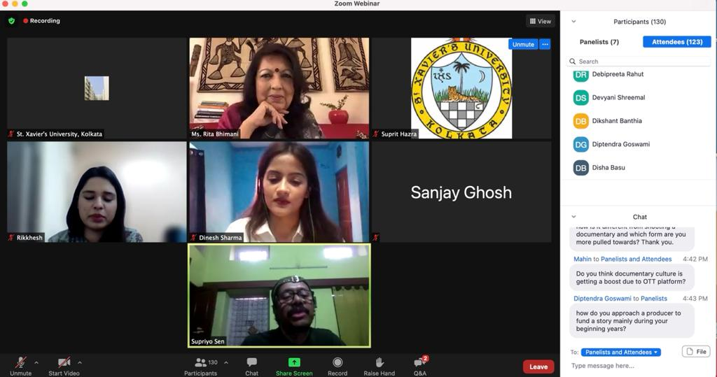 Over 20 colleges participated in Colours of Communication organised by St. Xavier's University's Department of Mass Communication. Image source: YouTube