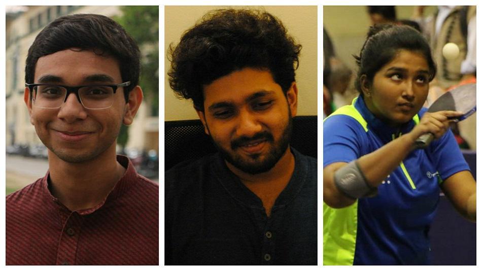 Swaraj Bose, Arpit Bhattacharya, and Aatrayee Chatterjee. Source: Facebook