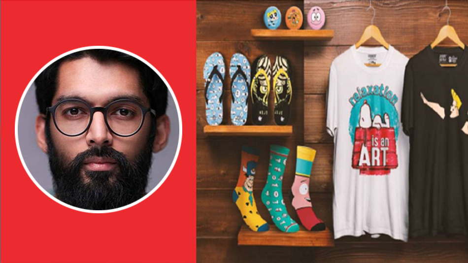 Harsh Lal, co-founder and director of The Souled Store, spoke at TEDx NMIMS Navi Mumbai. Image Source:  NMIMS
