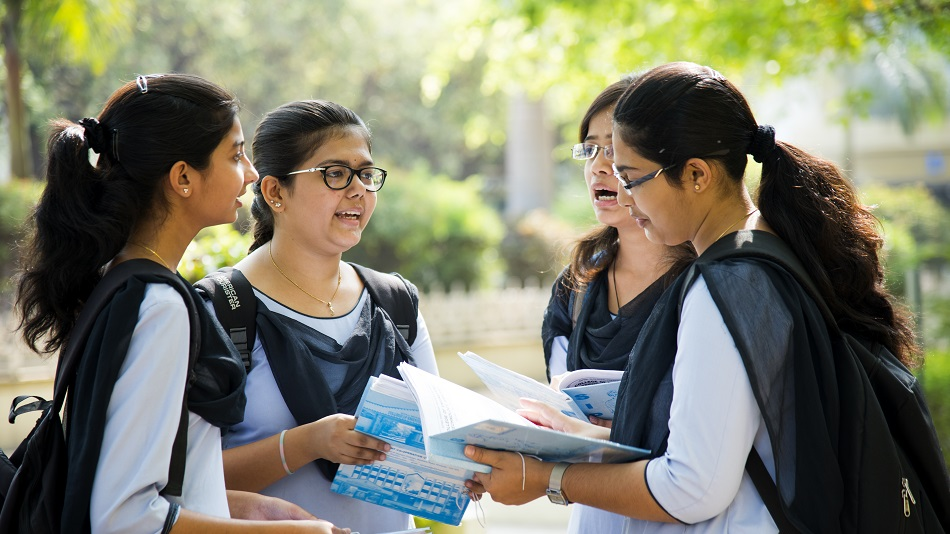 Students have been demanding cancellation or postponement of offline board exams amid the surge in COVID cases. Image Source: Shutterstock