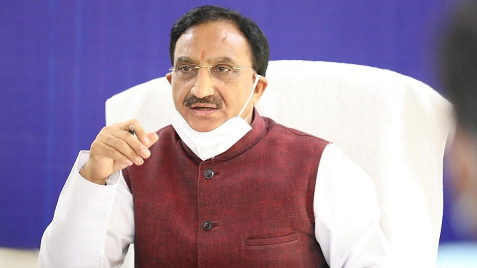 The minister expressed his confidence in the products being instrumental to protecting not just India, but the entire world safer from Coronavirus. Image Source: Twitter