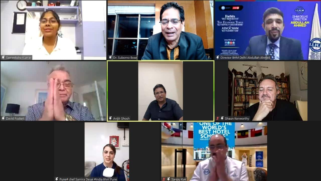 The webinar 'Hospitality: The Passion of Champions' hosted by IIHM discussed what it takes to be a pastry chef. Source: IIHM