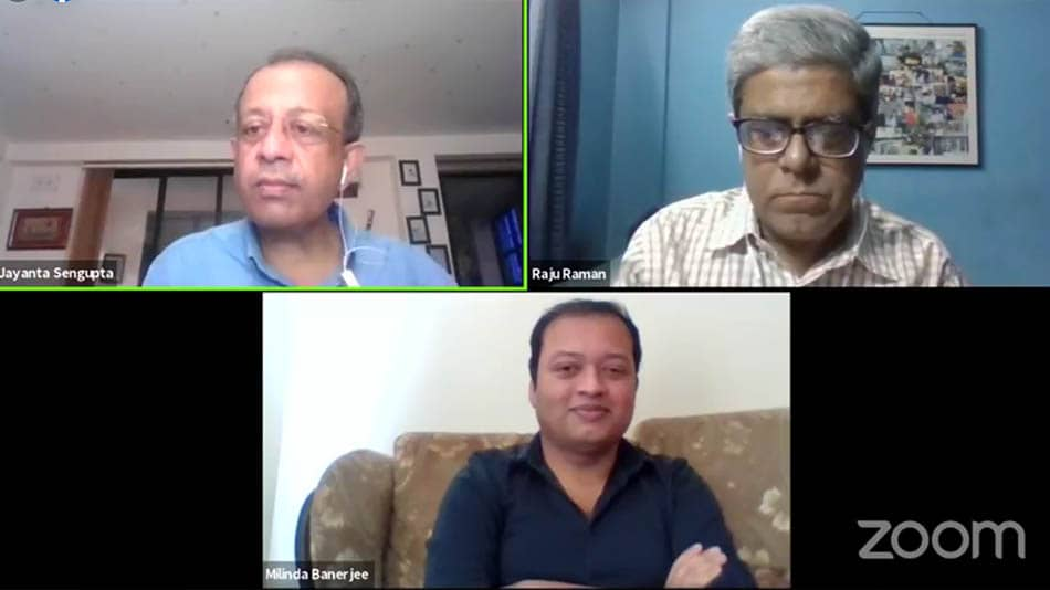 (Clockwise from top left): Jayanta Sengupta, Raju Raman and Milinda Banerjee. Image Source: Facebook