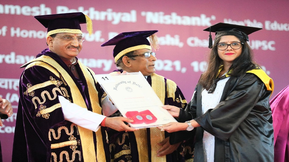 DU's vice-chancellor said that the varsity will implement NEP 2020 at the earliest. PHOTO: Twitter