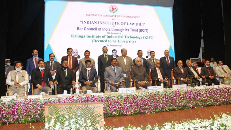 The foundation ceremony of the Indian Institute of Law (IIL) was held at Kalinga Institute of Industrial Technology (KIIT) Deemed to be University in Bhubaneswar on February 20.