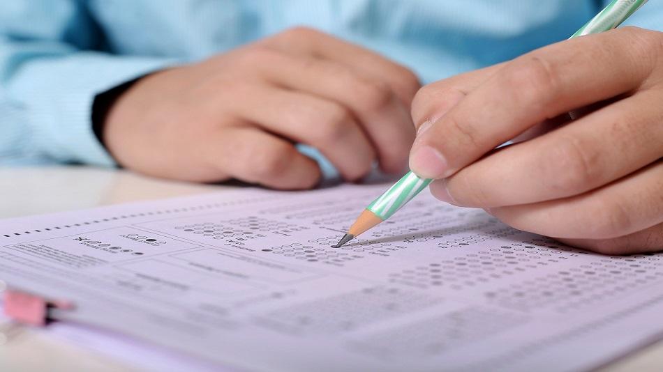 Social distancing mandatory in the examination centres.