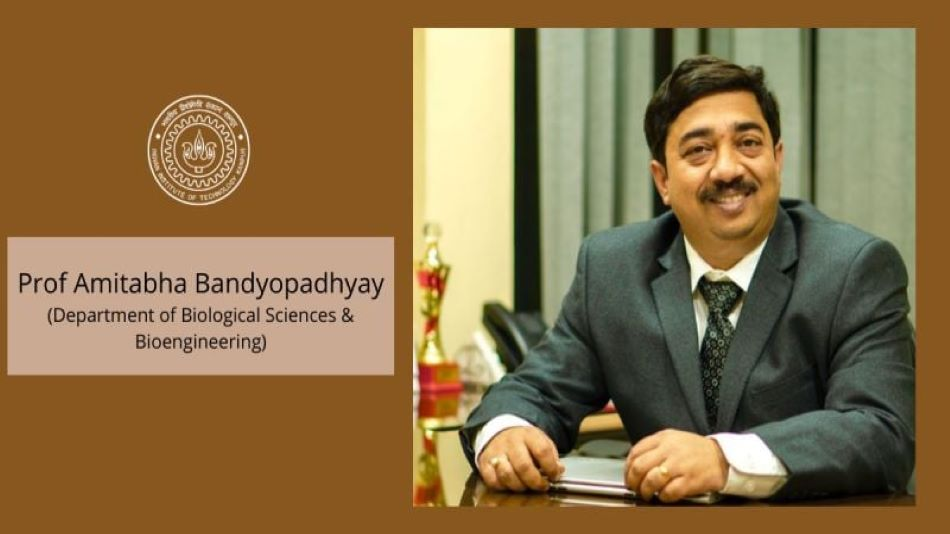 Amitabha Bandyopadhyay is the KENT Entrepreneurship and Innovation Chair at IIT Kanpur. Image Source: IIT Kanpur