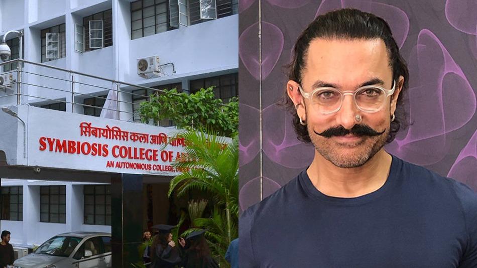 Actor Aamir Khan will attend the virtual golden jubilee celebrations of Symbiosis International (Deemed University), Pune.