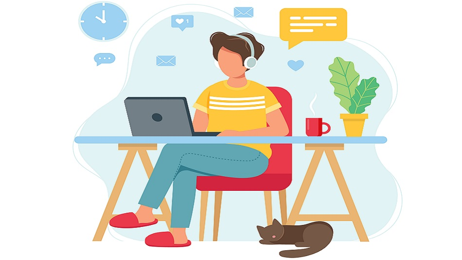 Activities like online learning have kept students busy at home. Photo source: shutterstock.com