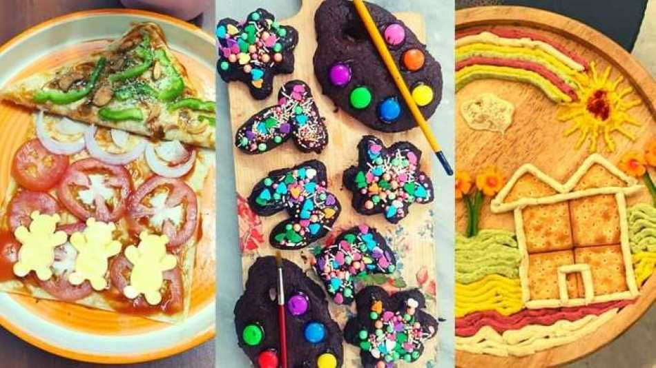 Dishes whipped up by participants in the Get Artsy workshops. Image Source: Students
