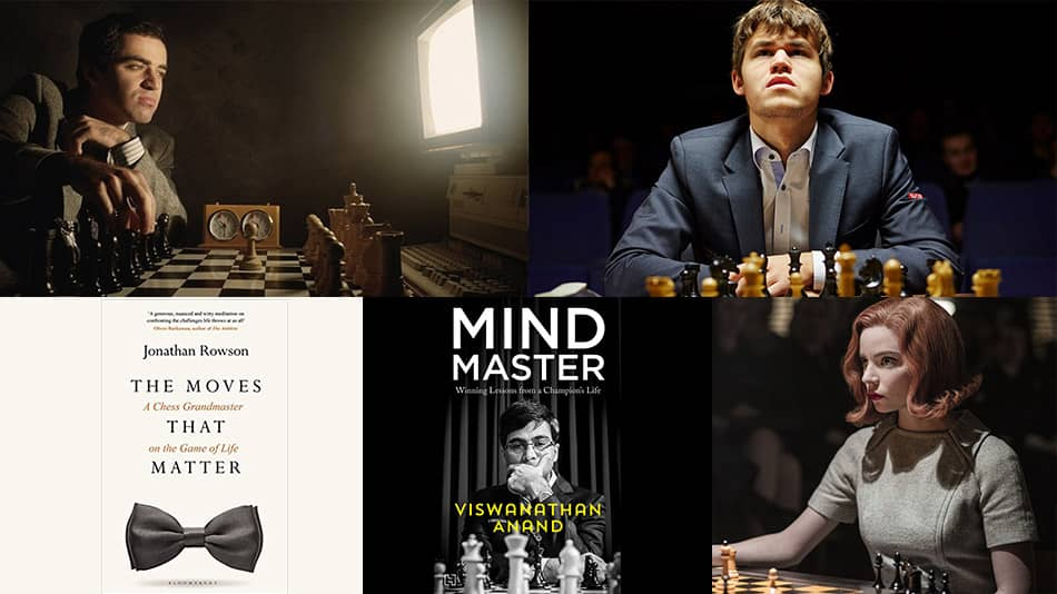 Books, documentaries and a web series to enjoy this International Chess Day.  Source: documentaryheaven.com, and Amazon.in