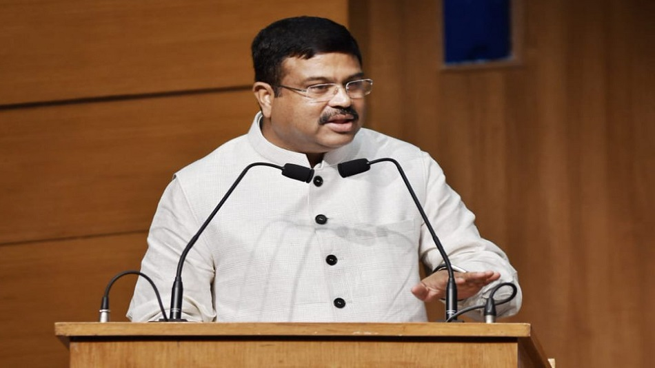 Union education minister Dharmendra Pradhan said synergising education with skill development will open new avenues of socio-economic empowerment Caption: Twitter