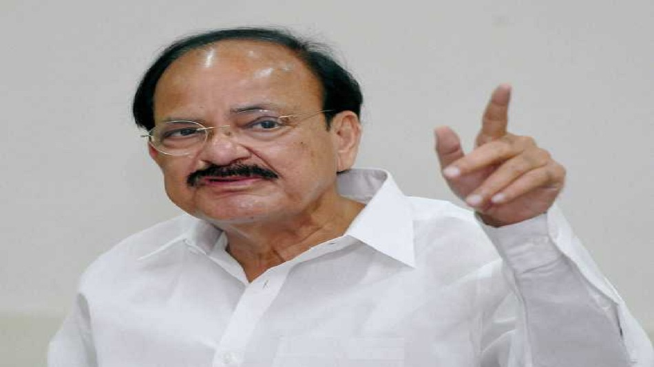 Naidu recognised challenges faced by the education sector amid COVID-19.  Image Source: Twitter