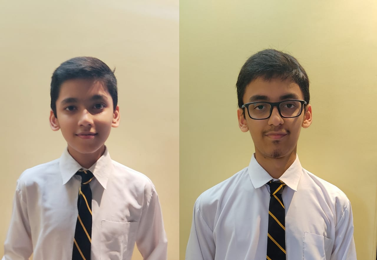 (From left) Pranay and Dhruv Sadani, co-founders of the CoviRescue website.