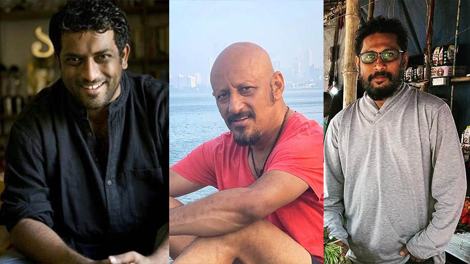 (L-R) Anurag basu, Shantanu Moitra and Shoojit Sircar, who were part of QSYN's fundraising concert for Cyclone Yaas. Source: Facebook, Twitter
