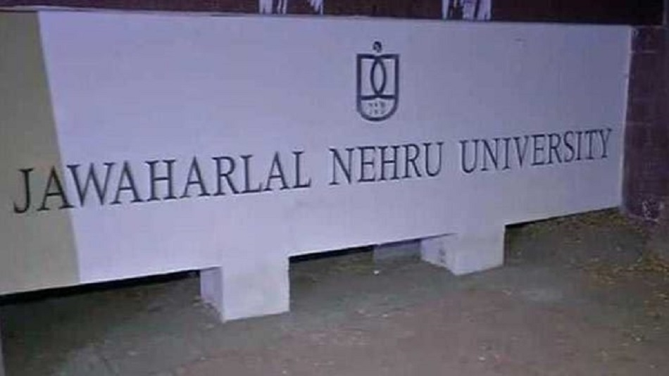 JNU instructed those students to vacate the library immediately. Image Source: Facebook