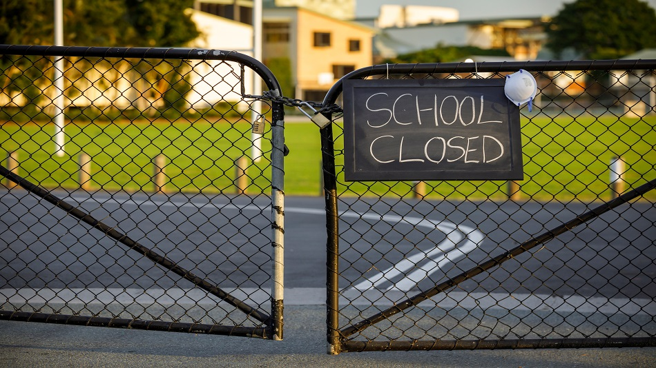 The district administration declared the school building and hostels as a containment zone. Image Credit: Shutterstock