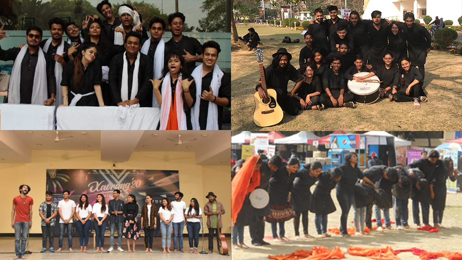 Glimpses of performances by different youth theatre groups. Source: Facebook