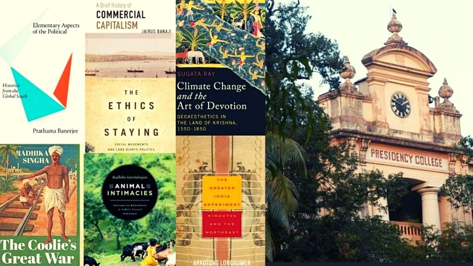 (L-R) Covers of some of the books discussed at the talks, organised by Presidency University's Sociology department. Image Source: Facebook.