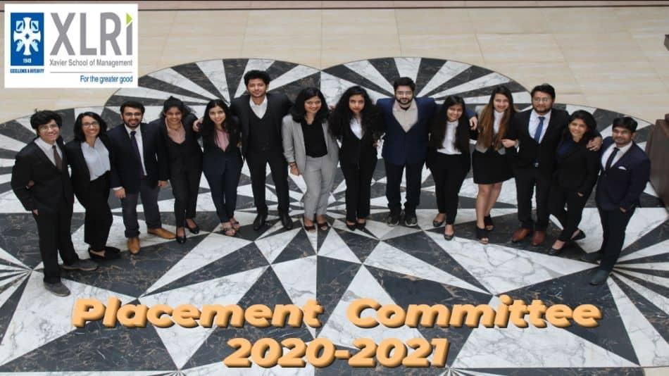 The placement was successfully coordinated by the placement committee of XLRI which includes Vrishank, Abhinav, Ankita, Appoorva, Harsh, Manju, Mansi, Rishabh, Ruchi, Saanchi, Saba, Sanjeet, Sagar, Vidushi. Image Source: XLRI