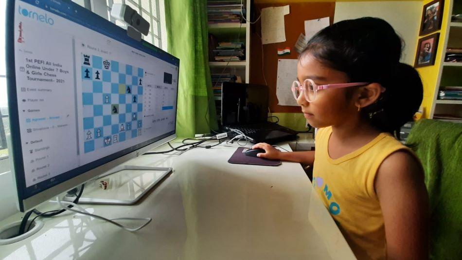 The virtual chess tournament was held over 3 days. Image Source: GIIS, Noida