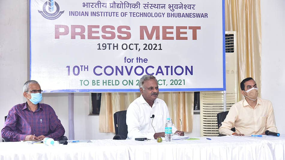 IIT Bhubaneswar will confer degrees upon 559 students during this hybrid mode convocation.  Image Source: IIT Bhubaneswar