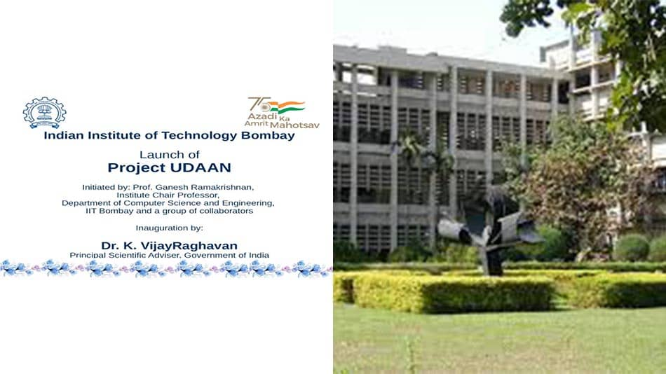 Through donations, the IIT Bombay team aims to continue its work on Project Udaan and complete its target to translate 500 engineering texts in Hindi in one year and in 15 Indian languages in 3 years. Image Source: IIT Bombay