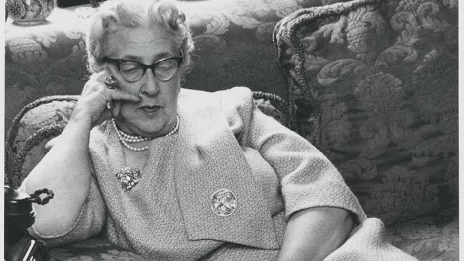 Agatha Christie in 1960 Source: Vinterior