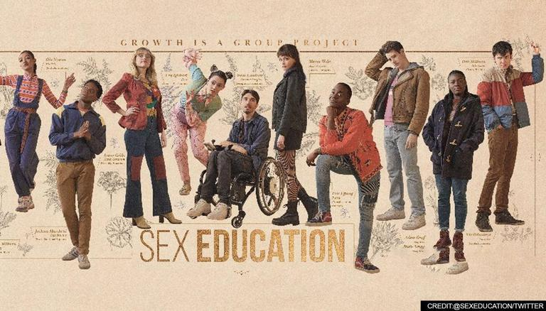 Sex Education just released its third season on September 17, 2021. Source: Twitter