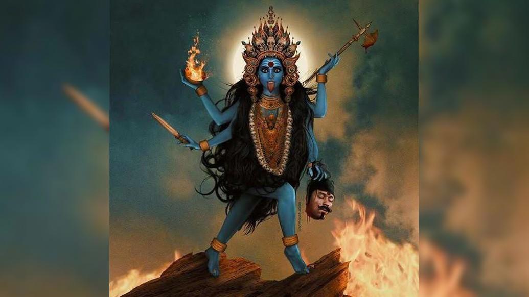 দেবতারা পরাজিত হন দারুকের কাছে। স্ত্রী রূপ ধরেও লাভ হয়নি বিশেষ। তখন তাঁরা শরণাপন্ন হন মহাদেবের।
