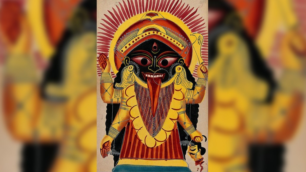 দেবী প্রলয় নাচন শুরু করে যুদ্ধে আহ্বান জানালেন। দেবীর কোপে ছিন্ন-বিচ্ছিন্ন হল দারুকাসুরের সেনাবাহিনী।
