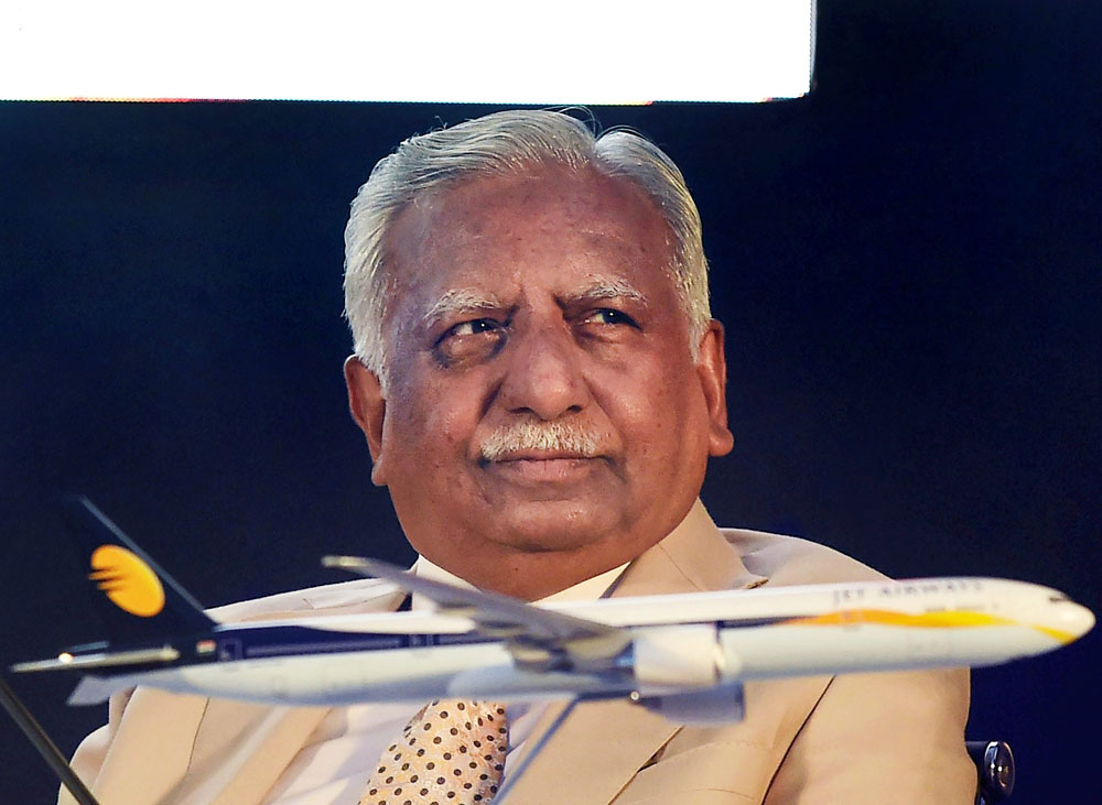 Jet Airways founder and chairman Naresh Goyal