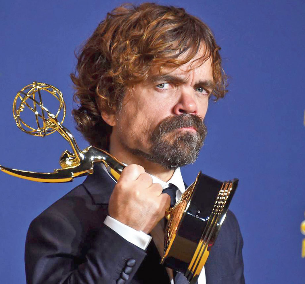 Peter Dinklage was nominated a seventh time for his role as Tyrion Lannister on the smash-hit HBO show, Game of Thrones, won his third Emmy for Best Supporting Actor in a Drama Series