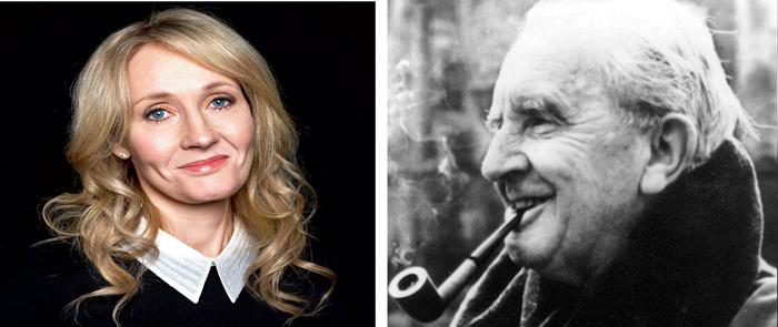 J.K. Rowling, J.R.R. Tolkien