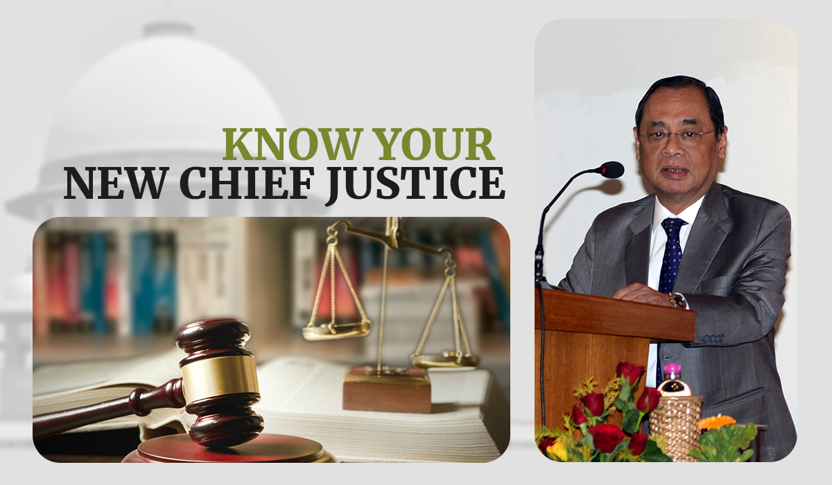 Infographic: A look at Chief Justice of India Ranjan Gogoi's life so far