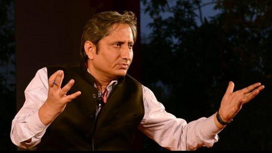 Ravish Kumar, NDTV India's senior executive editor, was among four other recipients of the award