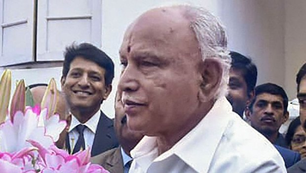 The cabinet expansion will take place on February 6 with the oath-taking ceremony at the Raj Bhavan at 10.30am: B.S. Yediyurappa