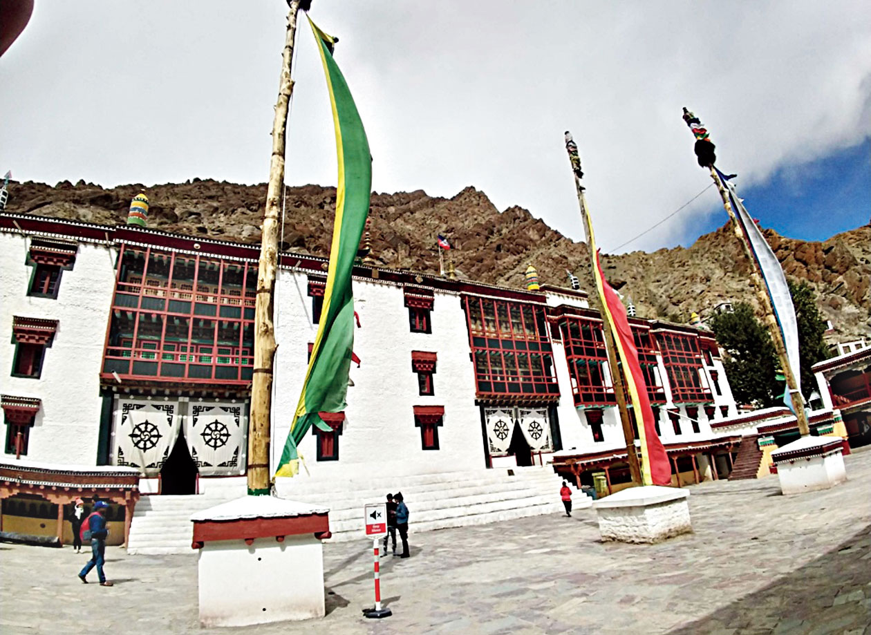 Hemis Monastery is a treasure trove of Buddhist artefacts