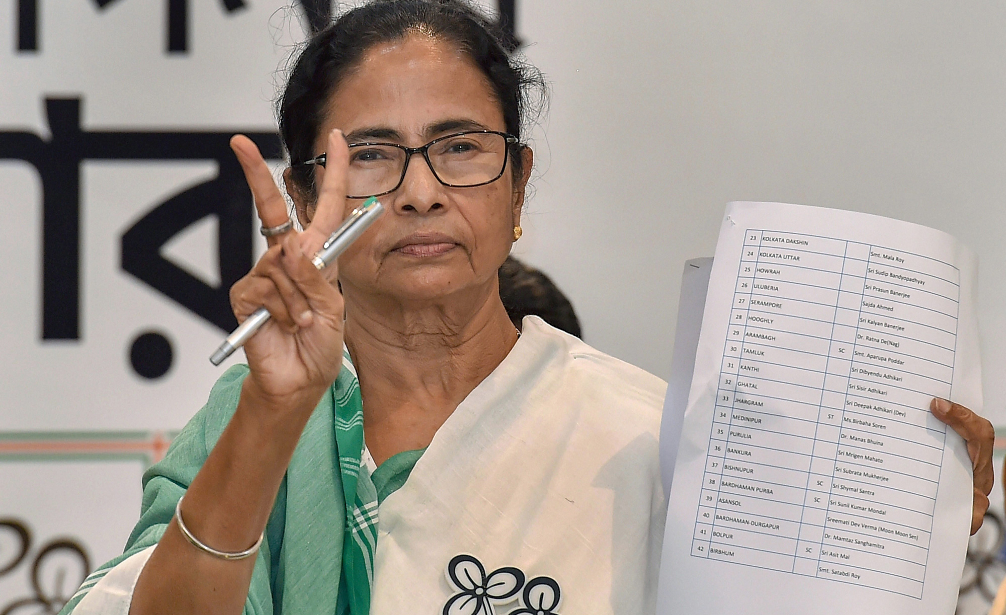 Who is your Trinamul candidate in Bengal?
