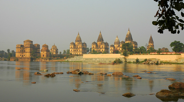 Once a bastion of the Bundela Kings, Orchha has medieval cenotaphs steeped in myths and legends