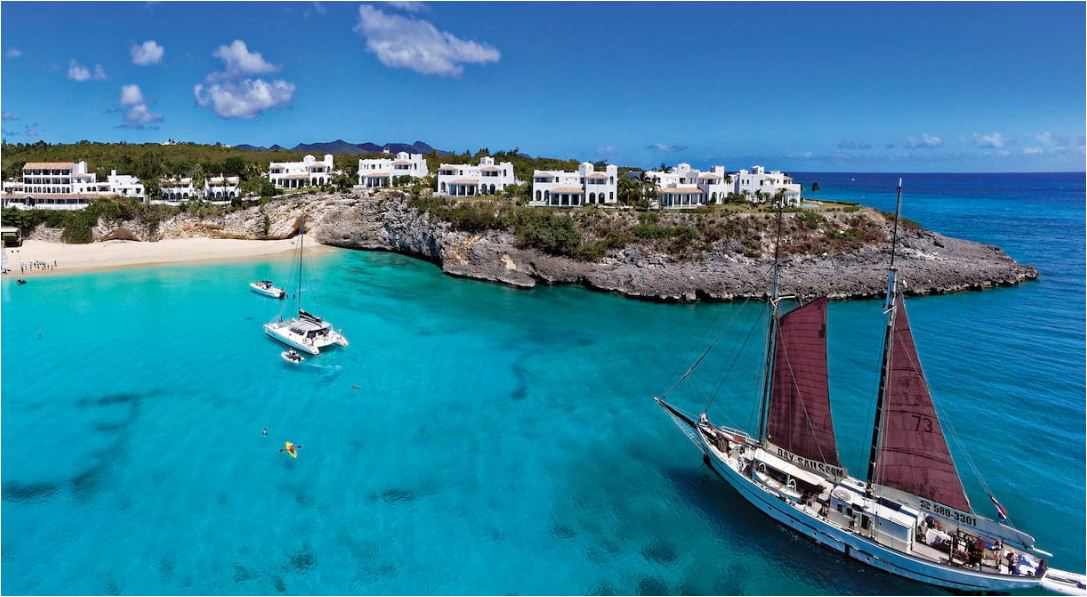 A Belmond property in the Caribbean.