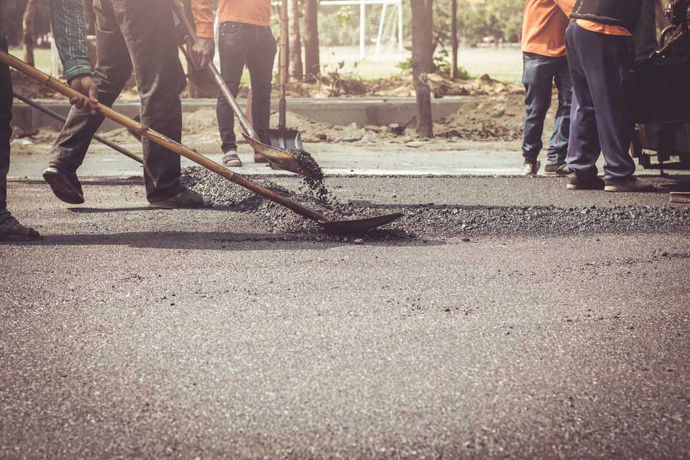 Two construction companies, M/s Ramky-ECi (JV) and M/s Gayatri Project Ltd, are engaged in construction of the road.