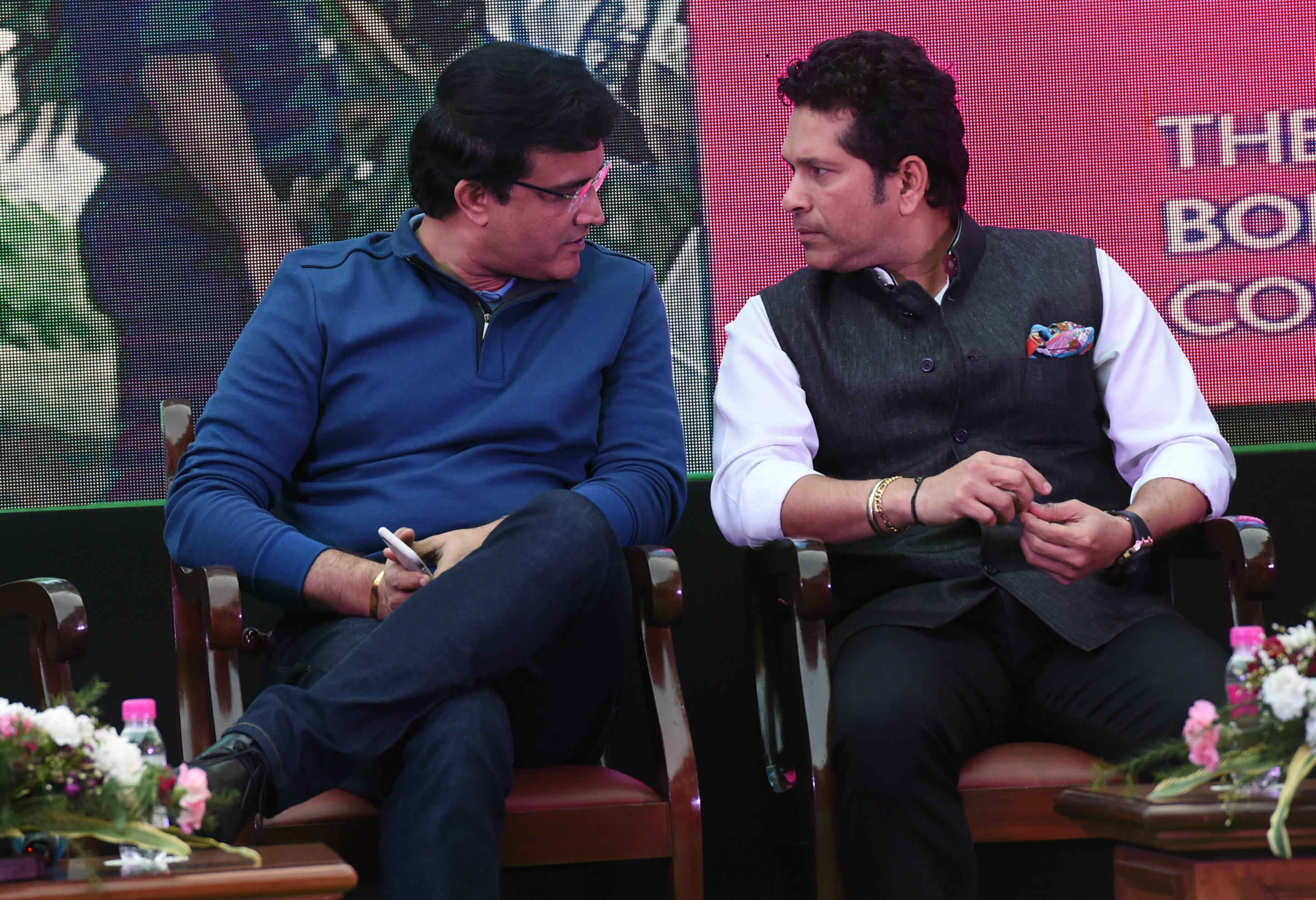 """""""The way Sourav played cricket, the way he has gone out and served the nation, I have no doubt that he will serve (as BCCI president) in the same manner, with same passion and same focus. That is what I know of him,"""" Sachin, said"""