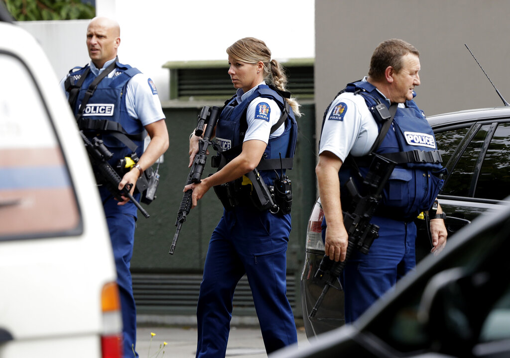 There wasn't even time to aim, so many targets: Christchurch gunman