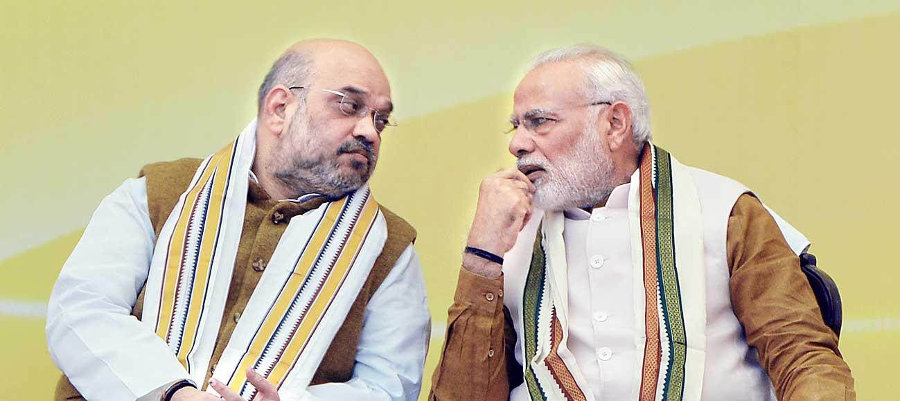 The letter and spirit of the Constitution have never come under such rampant and consistent assault as during the years that Narendra Modi assumed the reins of government and Amit Shah the reins of the BJP