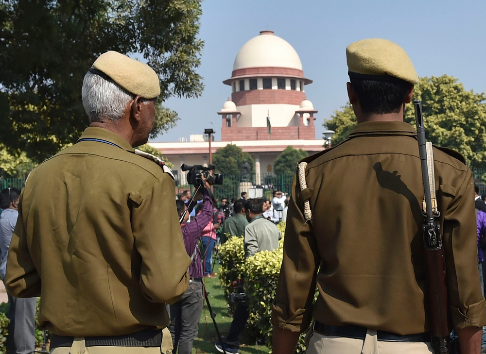 The bench had made it clear it was upset that neither attorney-general KK Venugopal, who is representing the Centre, nor Tushar Mehta, appearing for the state, were present