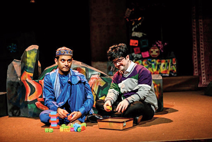 In the Akarsh Khurana-directed Aadyam play, an Afghan driver, Farid, takes Sohrab's father's step-brother, Amir, in the summer of 2001, to the orphanage in Kabul, where Sohrab is made to wear bells on his feet and dance for a hoodlum-turned-Talib.