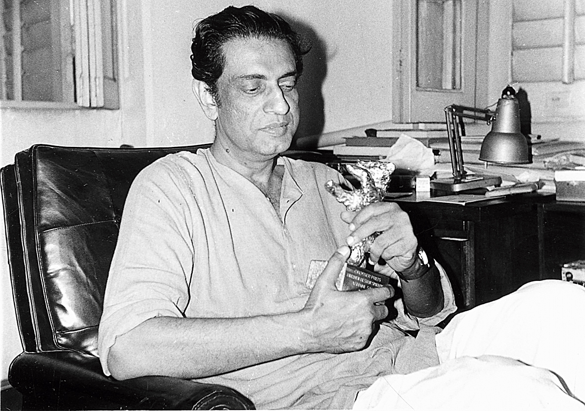 Satyajit Ray, with whom Ali worked at Clarion McCann