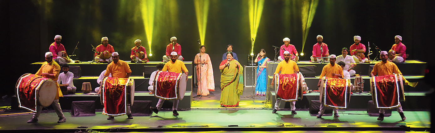 A snapshot from Dhamaal, which was the opening act of the curtain raiser for the fourth edition of the Serendipity Arts Festival 2019 that was held in Delhi in September.