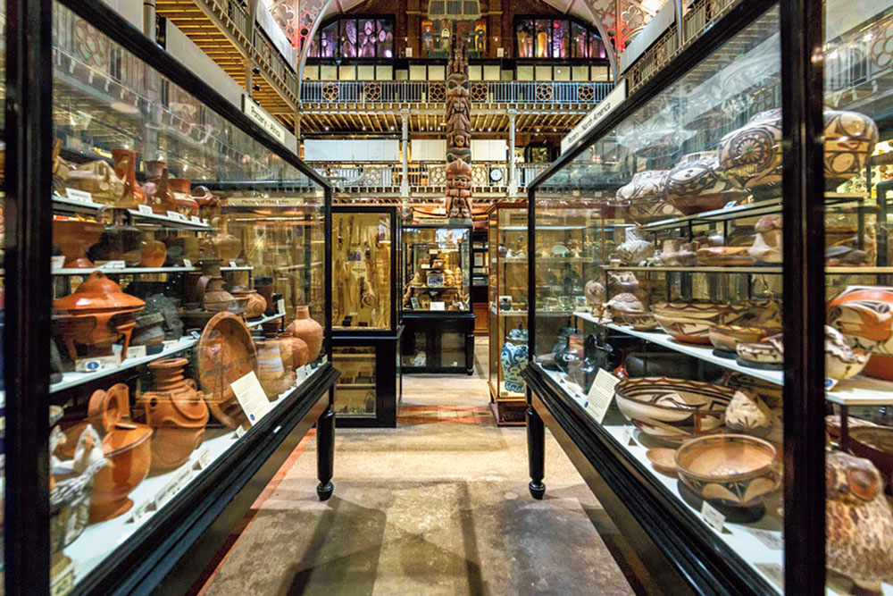 The Pitt Rivers Museum in Oxford